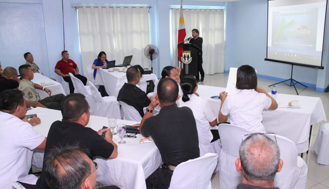 PSG educates personnel on Micro-Agri Entrep
