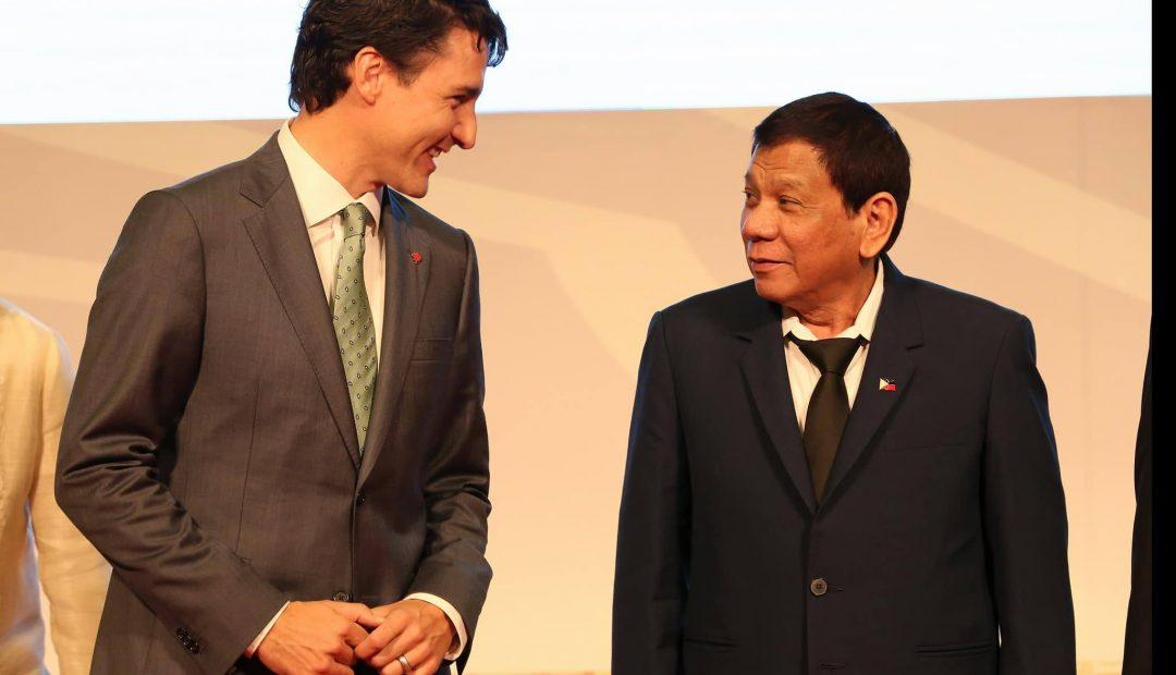 40th Canada-ASEAN Summit held in the Philippines