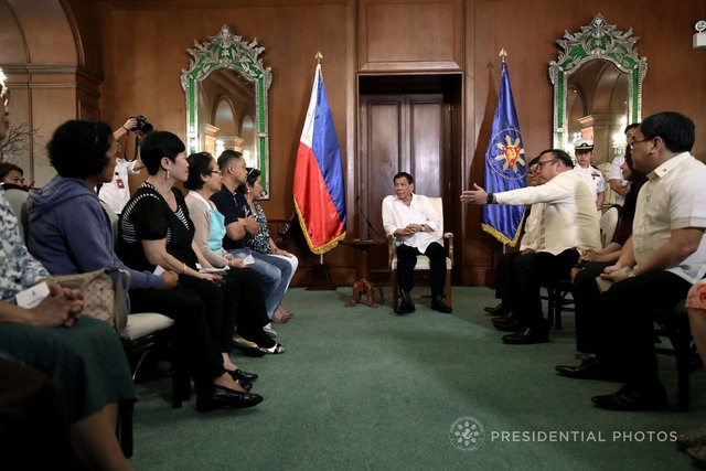 Maguindanao massacre victims' kins meet with PRRD