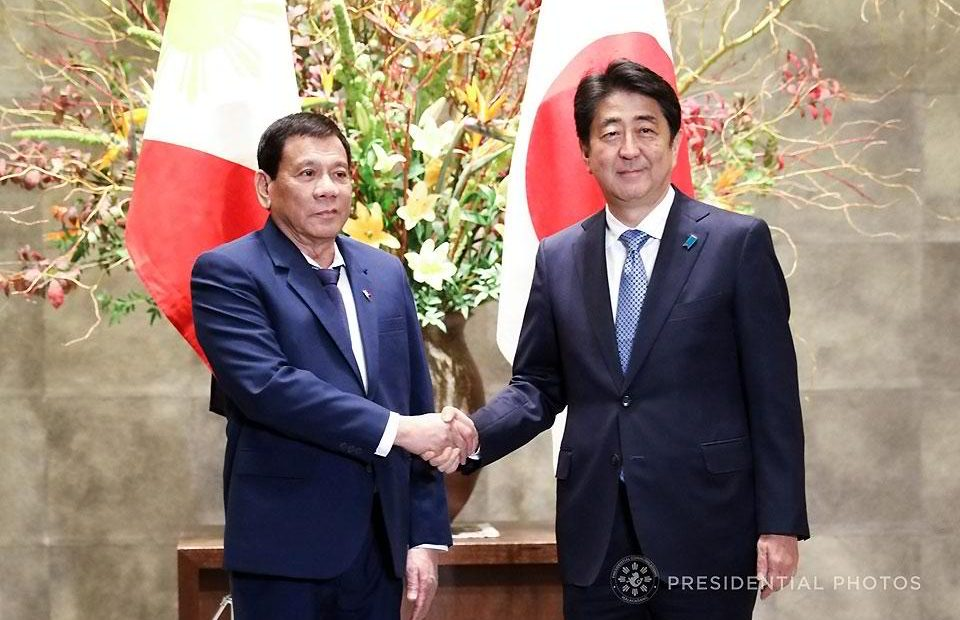 PRRD goes home with ₽300-B from Japan