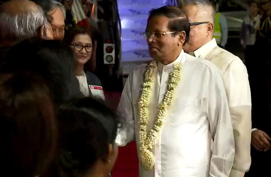 President Sirisena of Sri Lanka visits PH