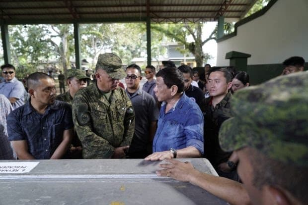 PRRD inspects Jolo bombing aftermath