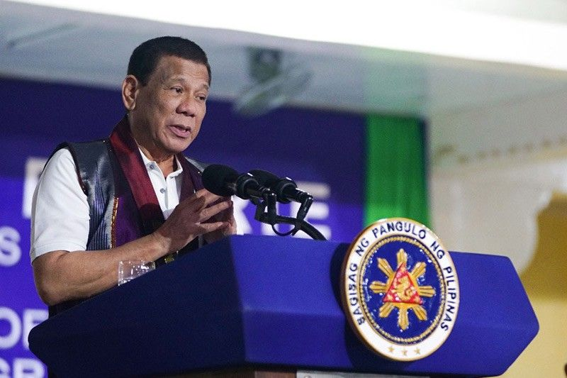 PRRD aims for lasting peace in Mindanao