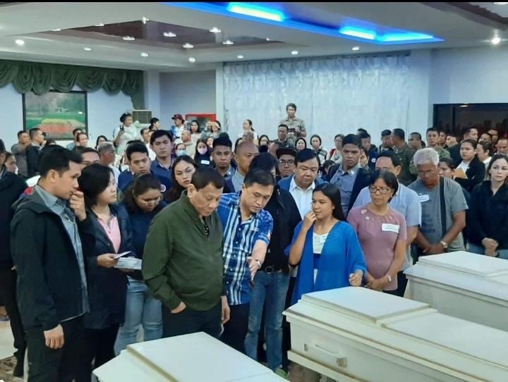 PRRD condoles with families of Iloilo sea mishap victims