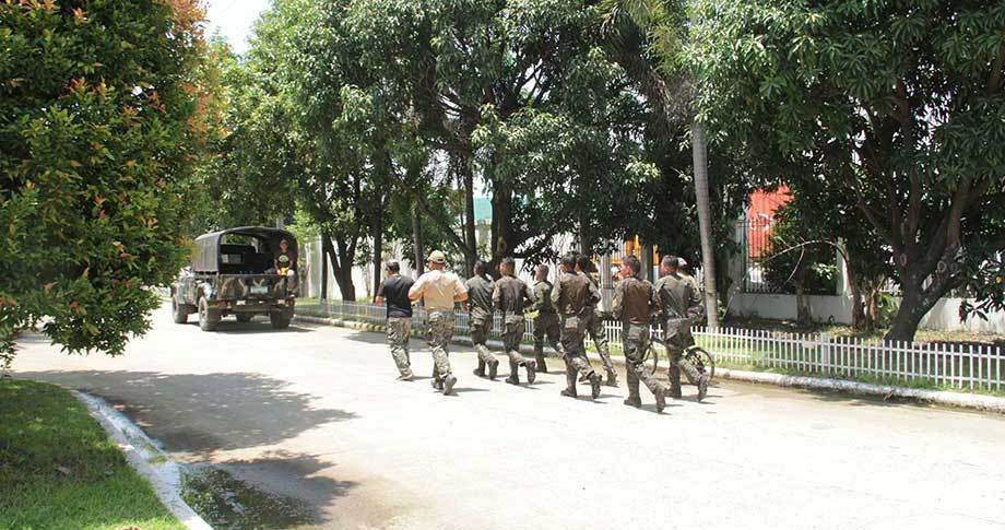 PSG Davao receives new troops