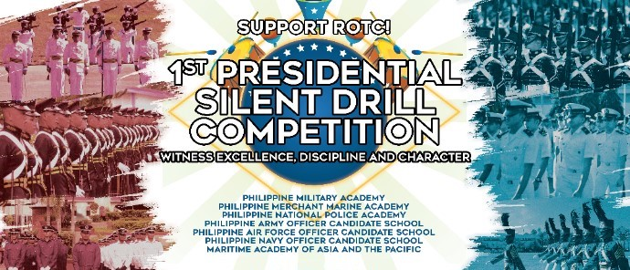 Cadets to compete for the 1st Presidential Silent Drill Competition