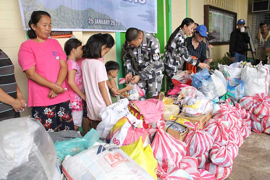 PSG, DepEd Rizal tie up for Taal Relief Ops