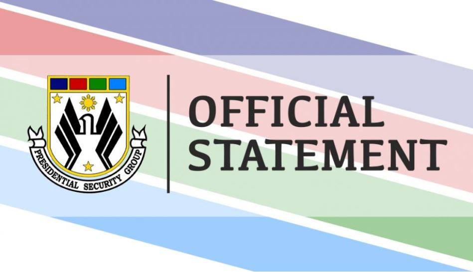 OFFICIAL STATEMENT: No detailed close-in security personnel of PRRD tests positive for COVID-19